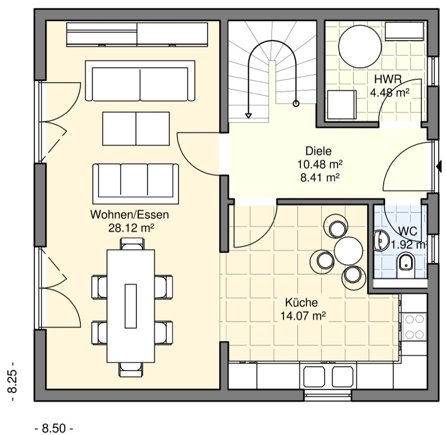 einfamilienh user bgw hausbau. Black Bedroom Furniture Sets. Home Design Ideas